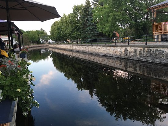 Perth, Canada: The view from the patio