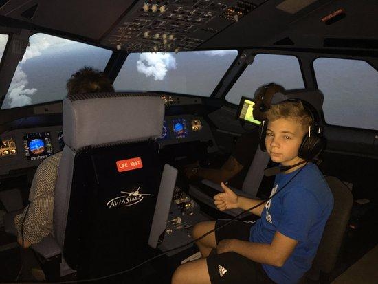 AIRBUS A320 FLIGHT SIMULATOR OF AVIASIM, NEYDENS.