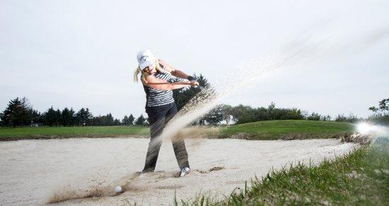 Oksbol, Denmark: Fri adgang til 9 hullers golf par 3 ved ophold