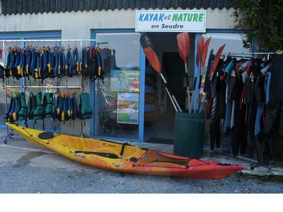 Kayak et Nature