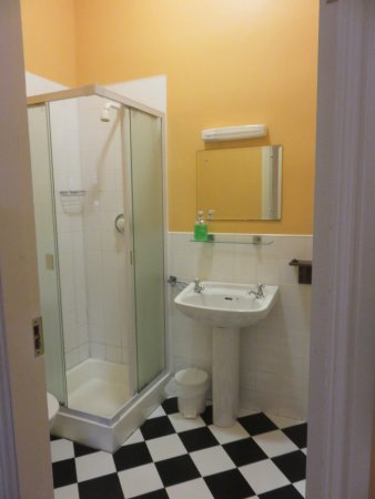 The Burren Hostel: Single room bathroom