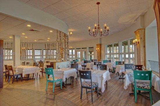 H tel suites lac br me lac brome canada voir les for Restaurant salle a manger tunis