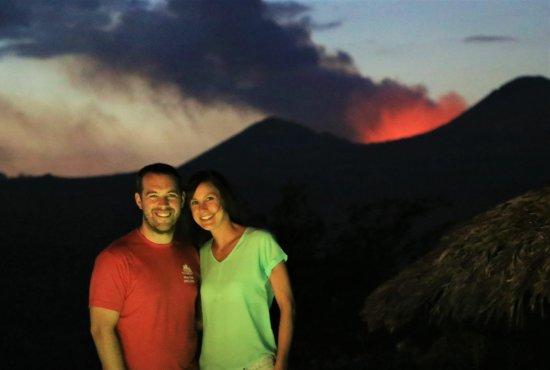 Masatepe, Nikaragua: Enjoying their Honeymoon at the Hacienda