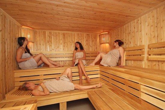 Lac-Brome, Kanada: Sauna - La Brume Spa   Hôtel Suites Lac-Brôme