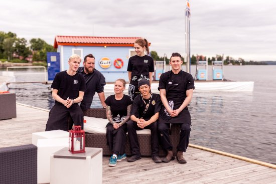 Djursholm, Sverige: Sommarmingel 4 juli 2017 på Café Ekudden