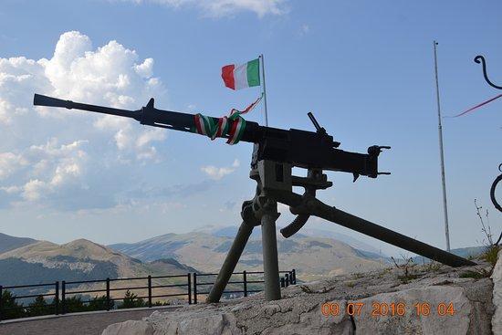 Roccaraso, İtalya: mai più Guerra!