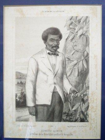 Saint-Gilles-les Hauts, Réunion: Edmond Albius, esclave au destin exceptionnel