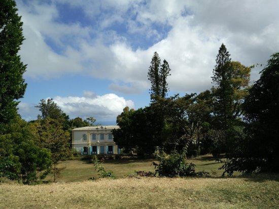 Saint-Gilles-les Hauts, Réunion: Le manoir de Villèle