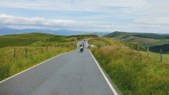Trem Hyfryd Guest House Bikers Retreat: Guided rideout by motorcycle.