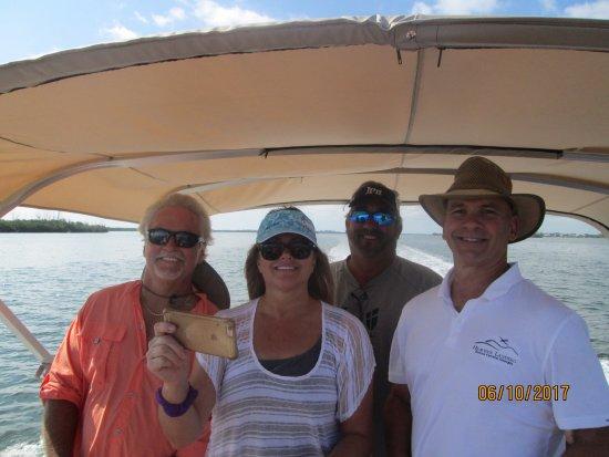 Capt Hiram's Resort: Pontoon Boat trip on the Indian River