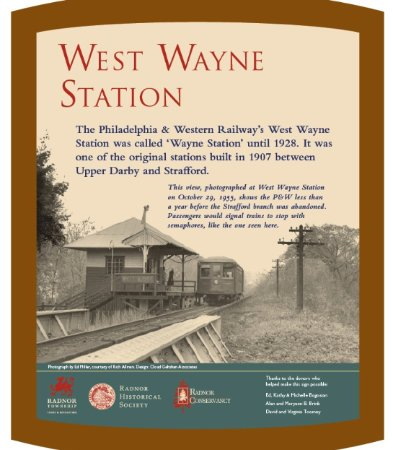 Wayne, PA: Historical marker