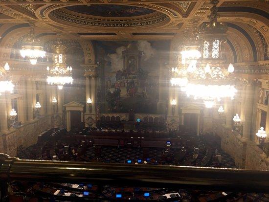 Pennsylvania State Capitol: House floor