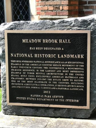 Rochester, MI: Meadow Brook Hall
