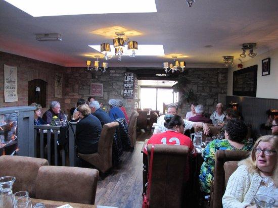 Cliffoney, Irlanda: Dinning area