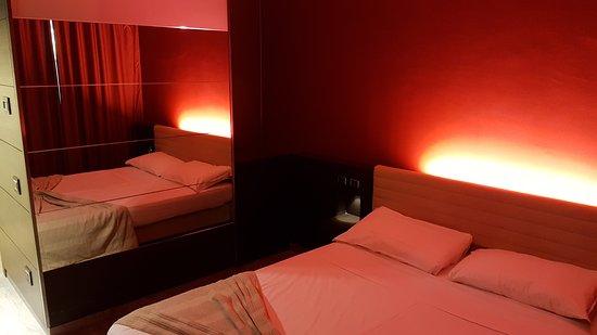 Lomazzo, Italia: Zimmer im Motel