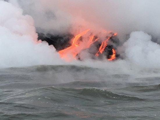 Pahoa, Hawái: lava flow June 2017