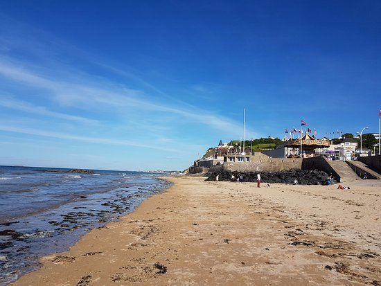 Arromanches-les-Bains, Frankreich: The beach of Arromanche city