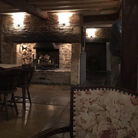 Horse & Groom: Fire in bar area