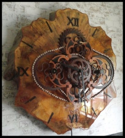 Smoky mountain time custom clocks picture of great for Arts and crafts gatlinburg tn