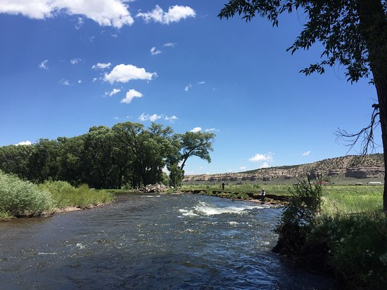 Velarde, NM: Fishing the Chama. Beautiful and peaceful.