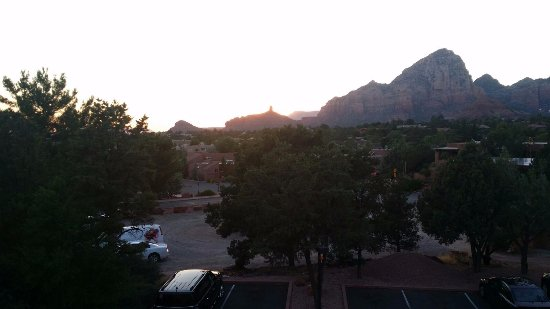 Best Western Plus Inn of Sedona: view from ou balcony