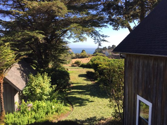 Glendeven Inn Mendocino: from the deck off my room...