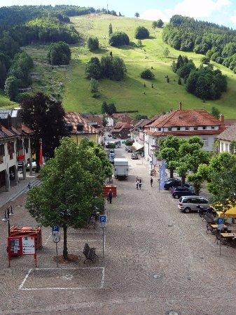 Todtnau - Kirche (vue depuis l'église)