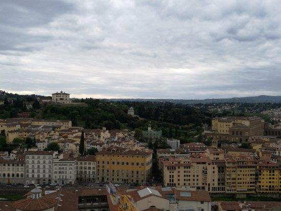 Oltrarno dalla Torre di Palazzo Vecchio