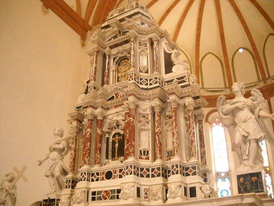 Un particolare della decorazione bild von chiesa di for Stufe corona