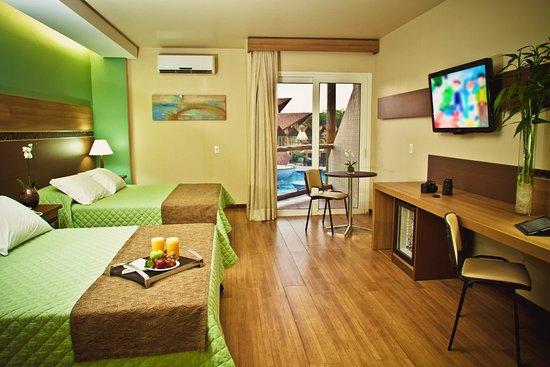Recanto Cataratas Thermas Resort & Convention: Suíte Master com banheira de hidromassagem