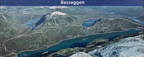 Vagamo, Norveç: The route.