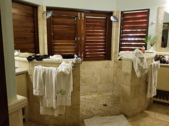 Sandy Bay, Jamaïque : Rose Cottage - Bathroom