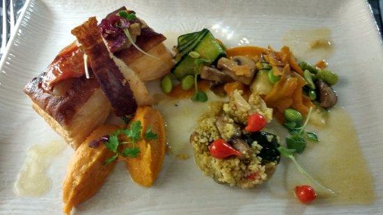 Le Poet-Laval, Francja: Plat menu végétarien