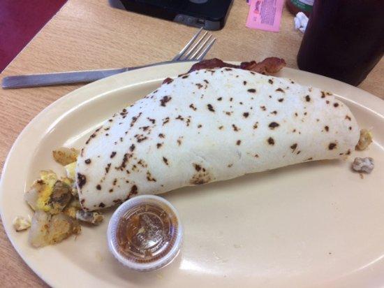 Alpine, TX: Massive Burrito