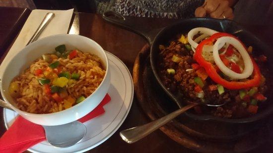 Chili Con Carne Mit Reis Bild Von Papasote Kaiserslautern