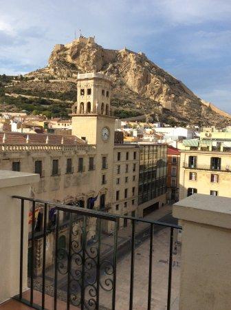 Eurostars Mediterranea Plaza Alicante: View from the balcony