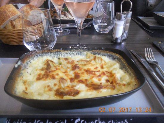 Chanas, France : Ravioles au fromage