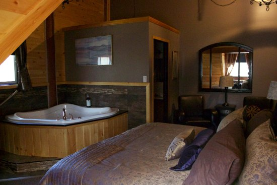 Kipawa, Καναδάς: King Jacuzzi Suite