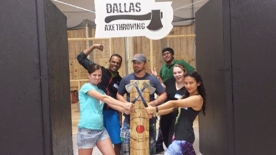 ‪Dallas Axe Throwing‬