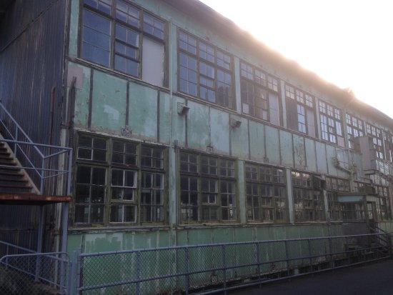 An abandoned factory on Cockatoo Island