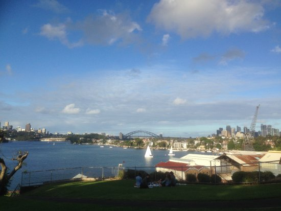 Cockatoo Island, Australië: A vantage point of Sydney Harbor. It is also a good place for picnics.