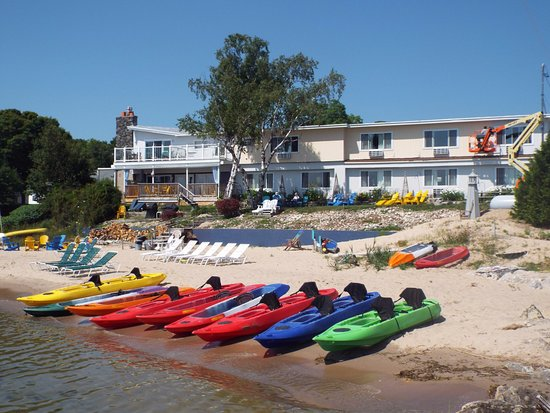 Baileys Harbor, WI: Rent a kayak through Lakeshore Adventures!