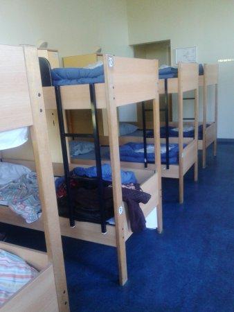 Stayokay Hostel Amsterdam Vondelpark: Quartos compartilhados com 8 camas