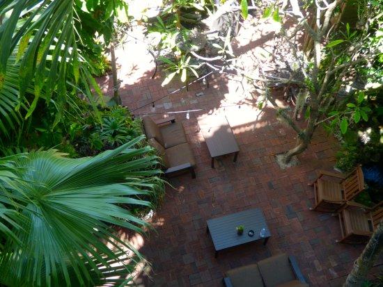 Island City House Hotel: Seating area