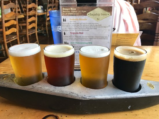 Kernville, CA: Beer flight