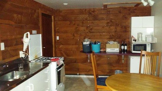 Hanmer Springs, Nueva Zelanda: Kitchen Diner