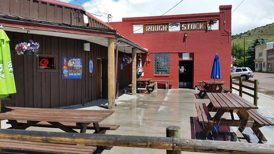Drummond, Montana: Great Patio!