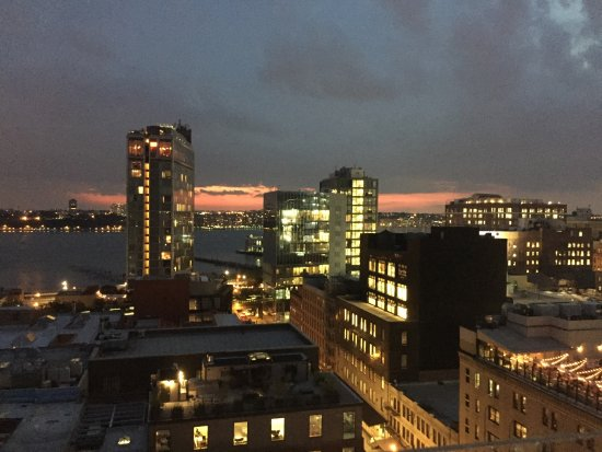 Gansevoort Meatpacking NYC: The view from the roof