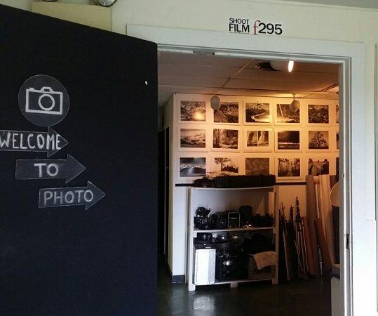 Layton, Νιού Τζέρσεϊ: Photo Studio Entrance