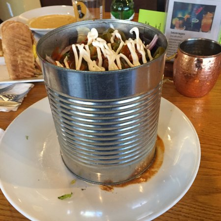 """Pittsboro, NC: The """"beginning"""" of the Trashcan Nacho appetizer"""